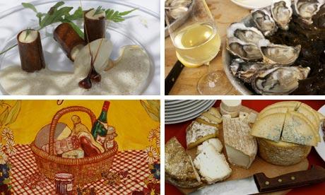 France food composite