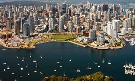 Canada, Vancouver, False Creek