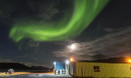 Northern Lights in Grundarfjorour, Iceland
