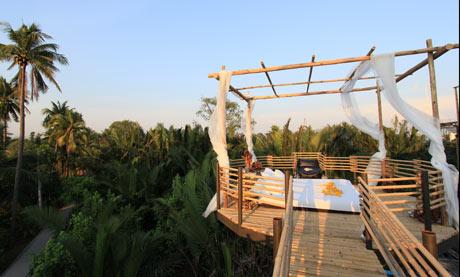 Bangkok Tree House 'bedroom'