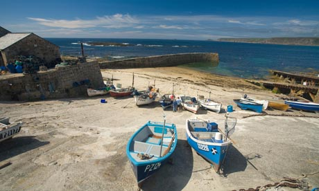 Sennen Cove harbour, Cornwall