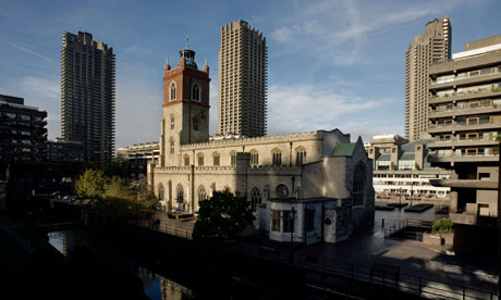 St Giles' Cripplegate, the Barbican, London.