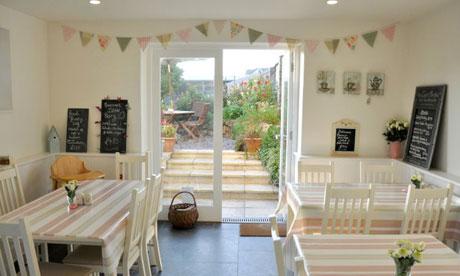 Sandleigh Tea Room And Garden Croyde