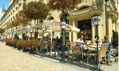 Spiz Restaurant and brewery, Wroclaw, Poland