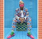 Portrait by Marrakech-born pop artist Hassan Hajjaj, popularly known as Morocco's Andy Warhol.