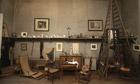 Cezanne's studio in Aix-en-Provence, France.