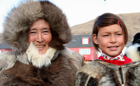 Native Greenlanders