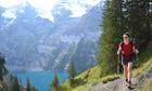 Sarah Baxter in the Kander Valley, Switzerland