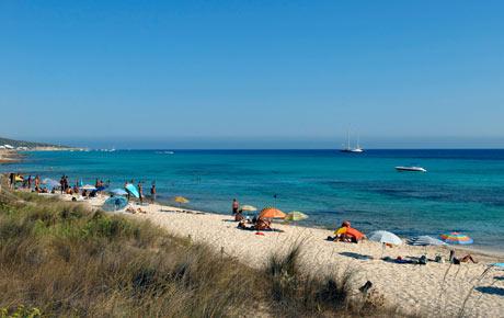 Beach Dunes Es Mitjorn Formentera Balearics Spain