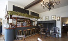 The refurbished recently Beckford Arms in Fonthill Gifford