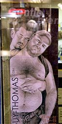Poster for an art exhibition in the renowned gay Parisian district Le Marais