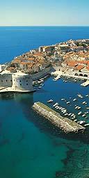 Dubrovnik, Dalmatian coast of Croatia