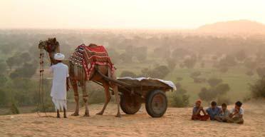 Camel ride, Rajasthan
