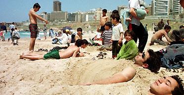 Beirut seaside