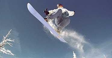 Snowboarding: like, totally radical, dude