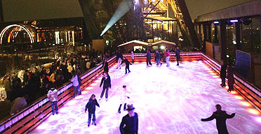 The Eiffel Tower on ice