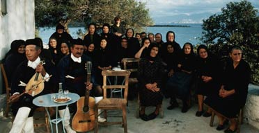 Traditional Greek musicians
