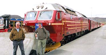 A train for the Arctic circle