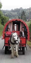 Escape: Ireland in a gypsy caravan