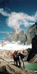Kate Lynn-Evans and friends in Patagonia