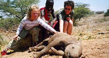 Jill Insley, Kenya safari