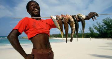 Fisherman, Caribbean
