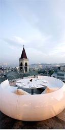 '360' rooftop restaurant, Istanbul, Turkey