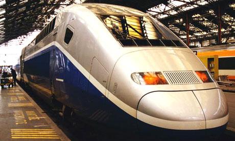 TGV in France