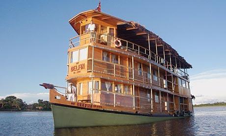 Amazon riverboat