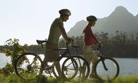 Cycling for green travel