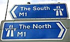Junction 26 on the M1 motorway