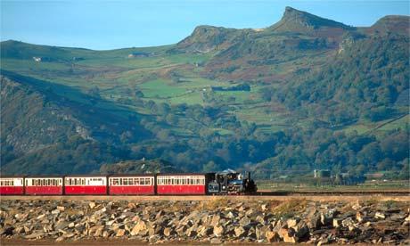 Ffestiniog railway, Wales