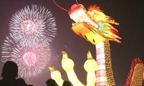 Chinese New Year in Chengdu, China