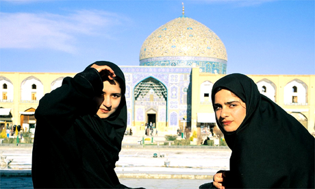 Students in Esfahan, Iran