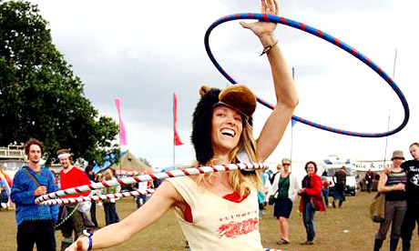 Hoops at the Secret Garden Party