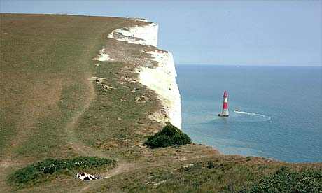 Beachy Head on the Sussex coast