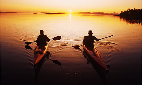 Kayaking on San Juan Islands