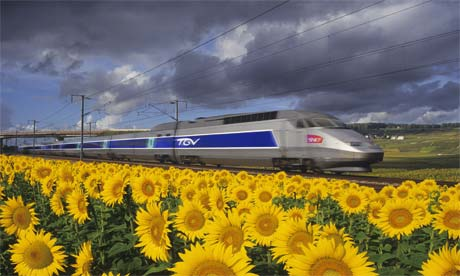 Enchante !!!: France celebrates 30 years of high-speed ...