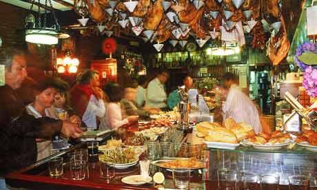 A Tavern in San Sebastian, Basque country