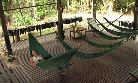 Clean break: Posada Amazonas, Peru