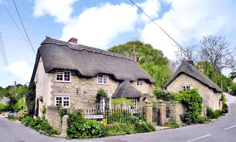 Charming  cottages like this one in Osmington, Dorset, may still be