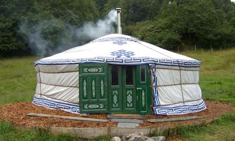 Full Cirlce yurt, Lake District, UK