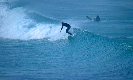 Surf and berth - The good news about this summer's weird weather? The waves are up. So, book some lessons and head to one of these seaside pads, all within earshot of the surf - 21/07/2007 - The Guardian - Journalist: Dominic Traynor