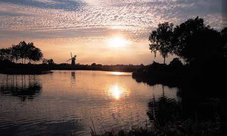 The Norfolk Broads, England, UK