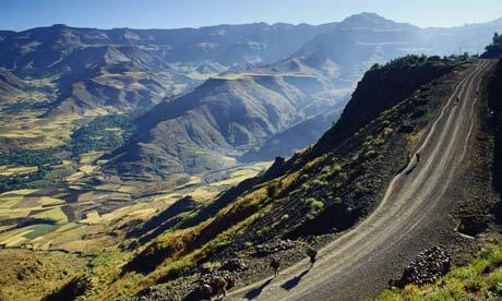 Foothills near Lalibela, Ethiopia