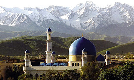 Almaty Central Mosque, Kazkhstan