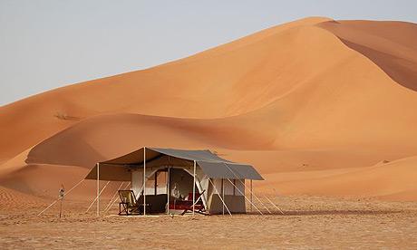 Empty quarter, Oman desert