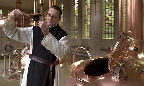 Trappist Monks Drink Beer