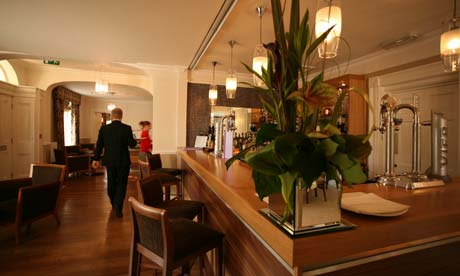 Fishmore Hall hotel and restaurant, Ludlow