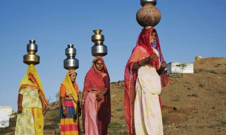 Women well India